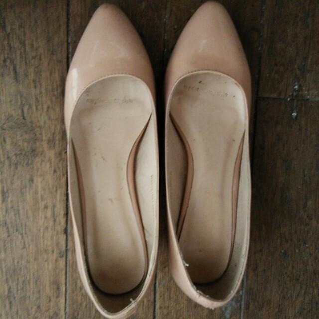 Nude Pink Pumps/Heels