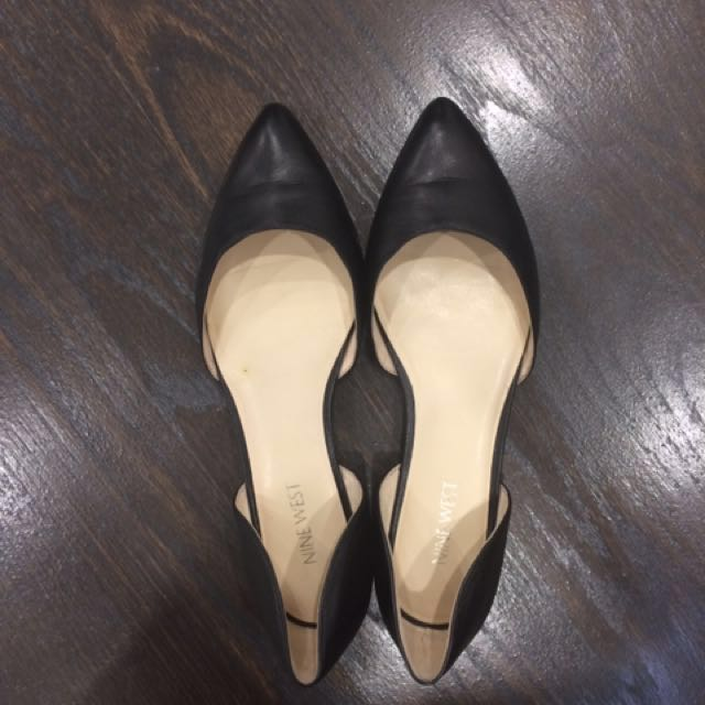 NW leather flats