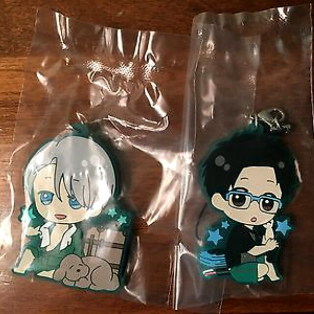 [OFFICIAL] Yuri on Ice ~Enjoy Your Trip~ Rubber Strap (Victor & Yuri)