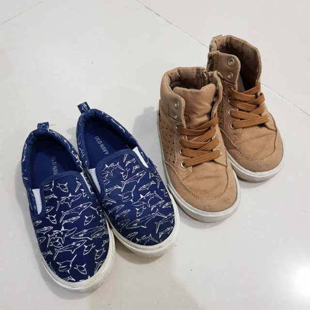 OLD NAVY Canvas Shoes for Boys Buy 2 for 750 only