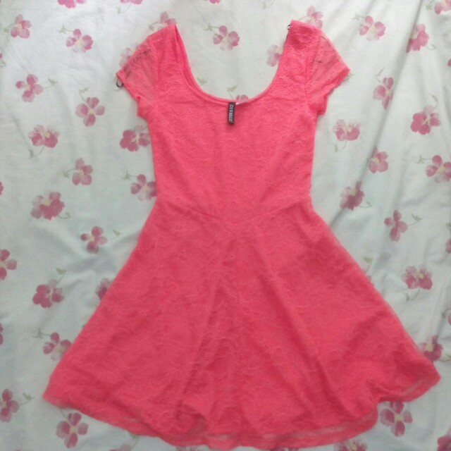 Original H&M Fit and Flare Skater Lace Dress