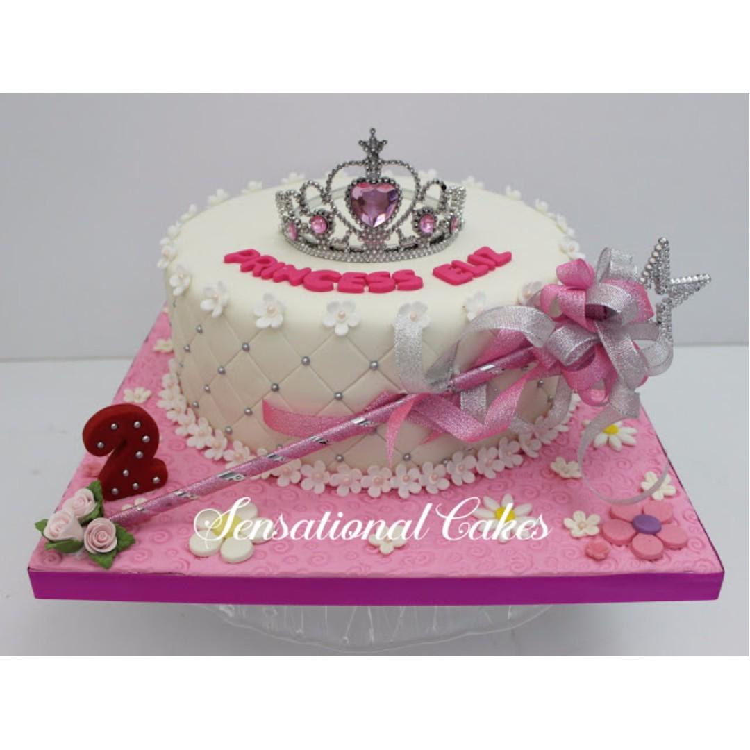 Princess Tiara And Magical Wand 3d Cake Singapore Cake For Sweetie