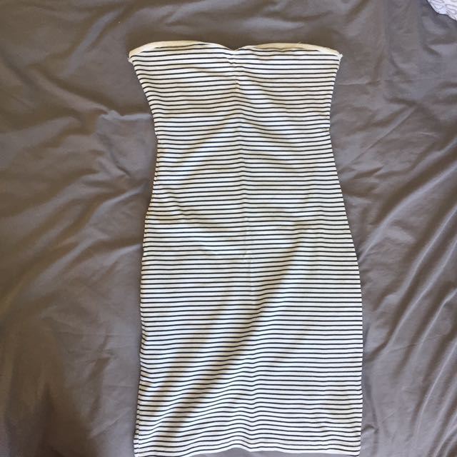 Pull and Bear Striped Dress