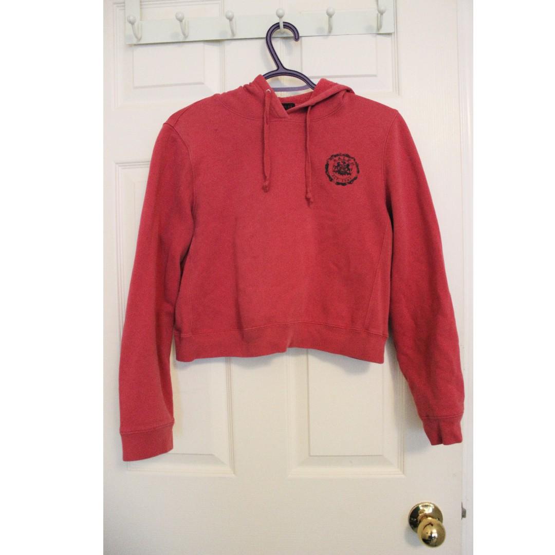 Ralph Lauren cropped hoodie