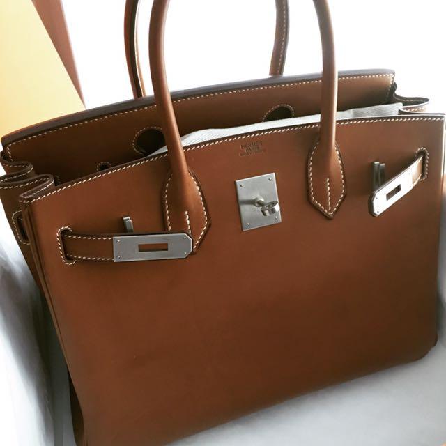 ... ireland rare preowned hermes birkin 30 barenia luxury bags wallets on  carousell adb06 ef462 ac53a07295688