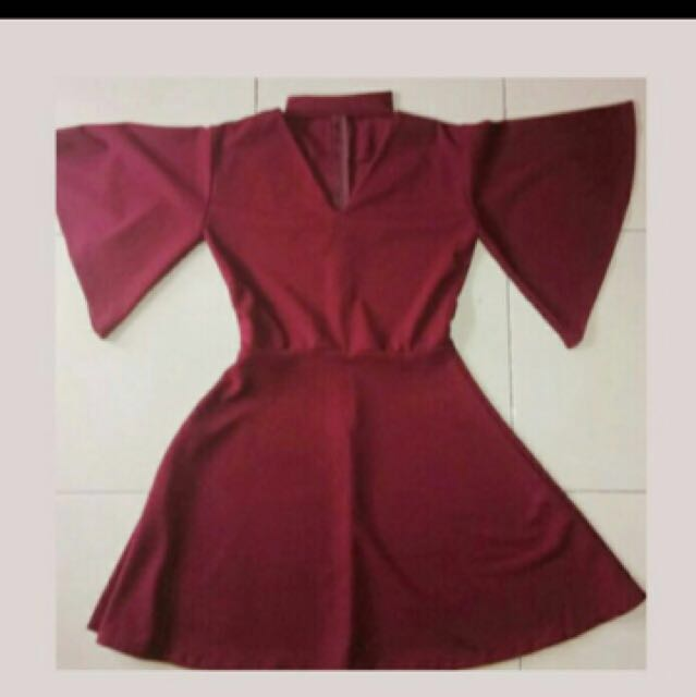 Red dress new (jual murah banget)