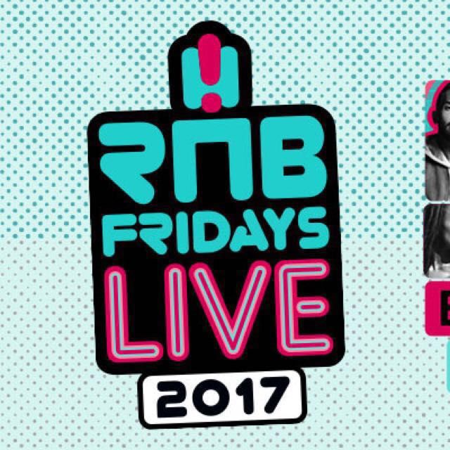 Rnb Friday Live Tickets x 2