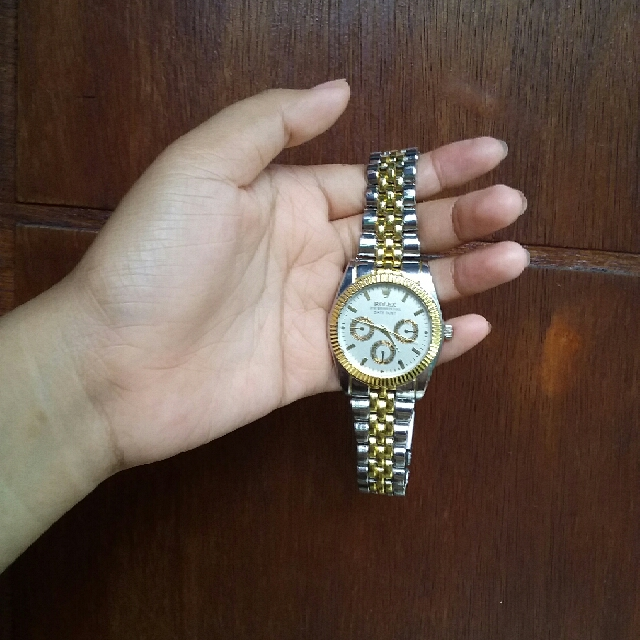 Rolex Oyster Silver Gold (Kw)