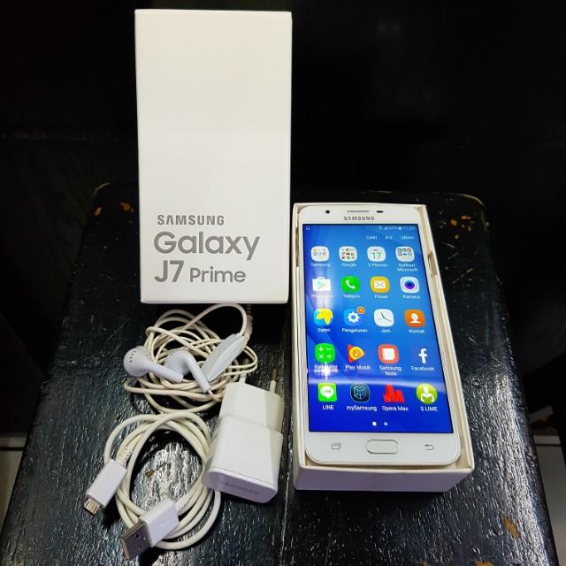Samsung J7 Prime Gold Telepon Seluler Tablet Ponsel Android Di Carousell