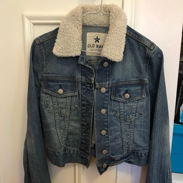 Size XS OLD NAVY jean jacket