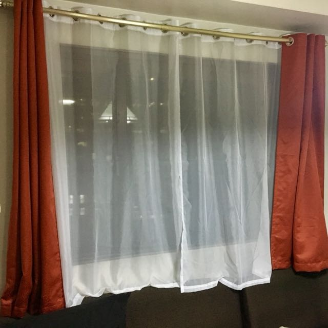 Standard Curtains - 4 panels, 2 colors