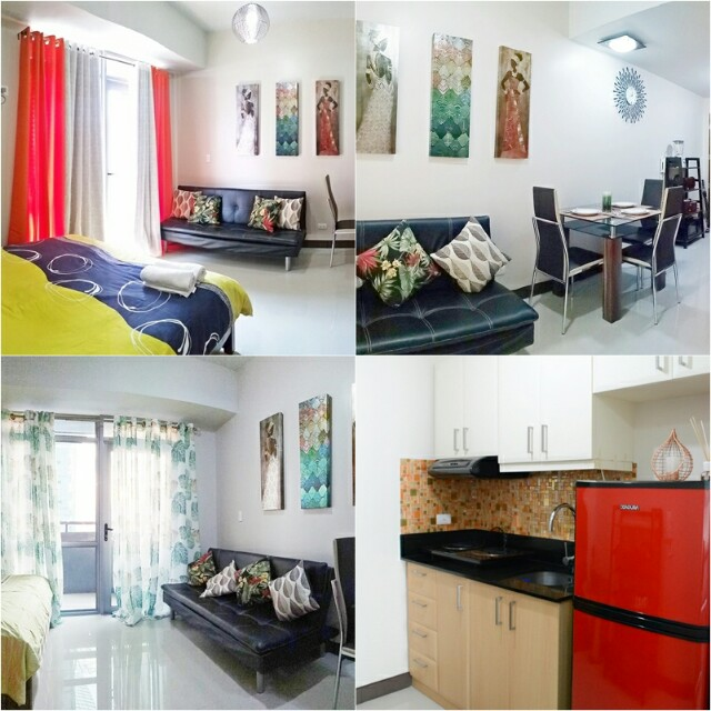 STUDIO FOR RENT w/ WIFI, Cable, H&C Manhattan Heights Tower A, Cubao