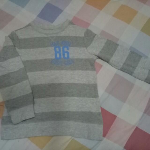 Sweater anak laki2 size 5-8 thn