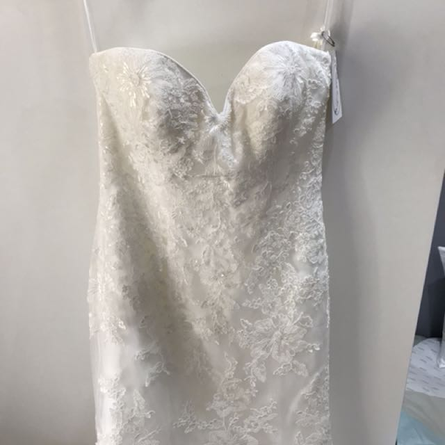 Sweetheart aline wedding dress brand new with tags