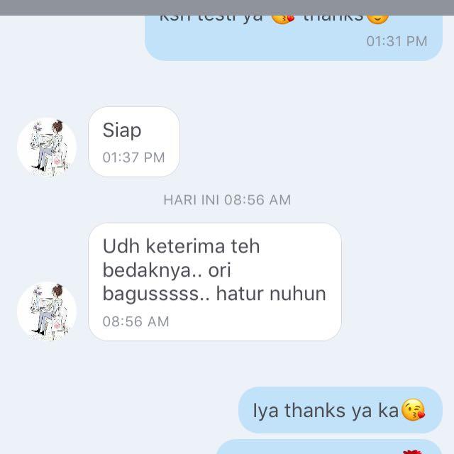 Testi again😍🌹🌹 thanks Carousell💕