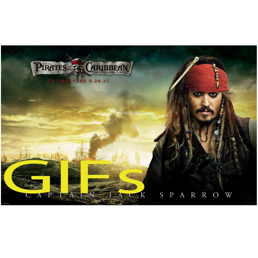 The Best 10 Jack Sparrow Gifs  Pirates of the Caribbean