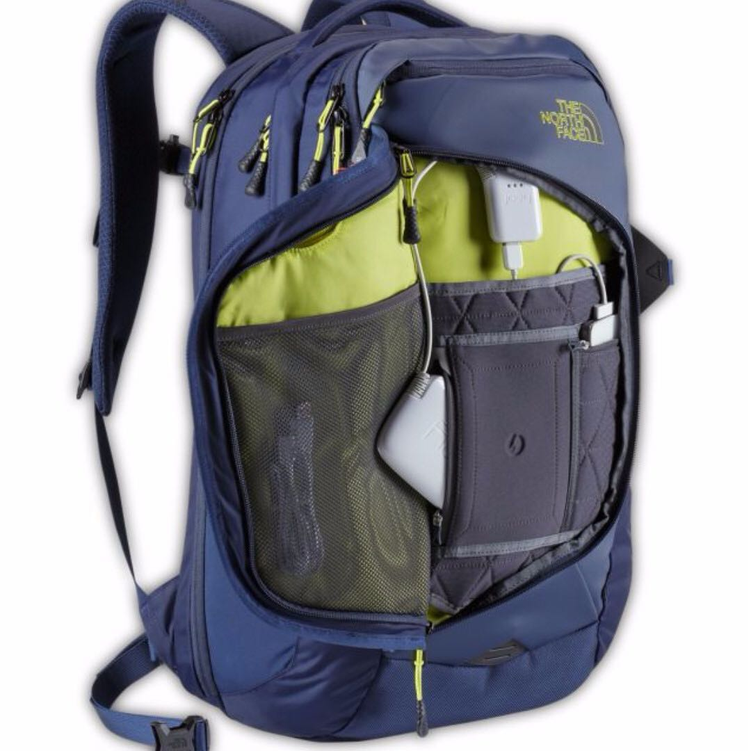 THE NORTH FACE RESISTOR CHARGED BACKPACK BLACK/ BLUE