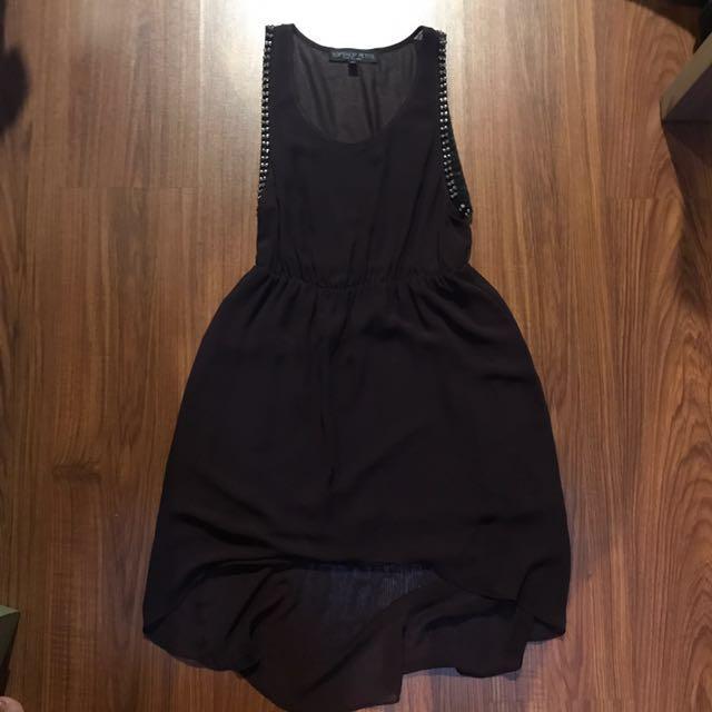 Topshop high-low dress
