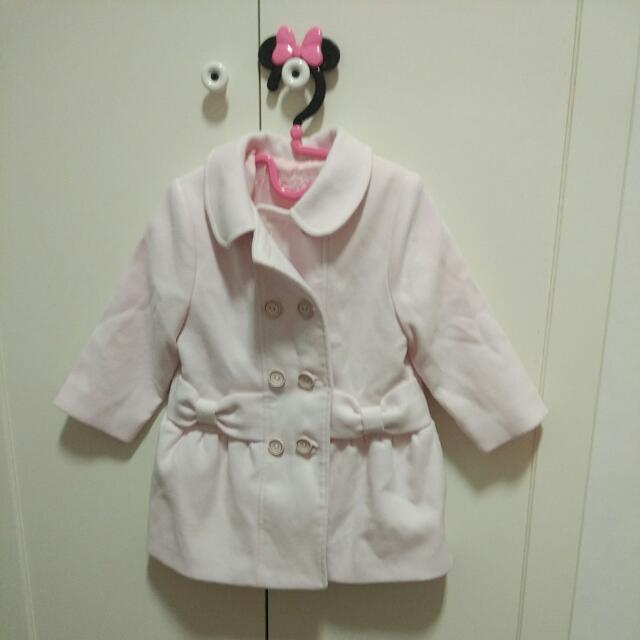 b5e2ef320 Tutto piccolo Pink Coat., Babies & Kids, Girls' Apparel on Carousell