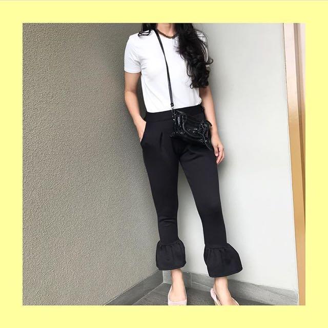 Umber Pants Black
