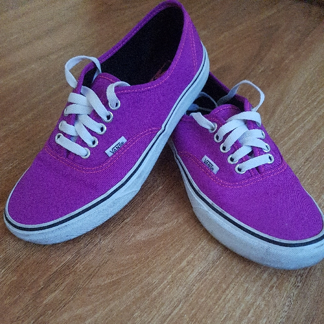 Vans pink super cool excellent condition