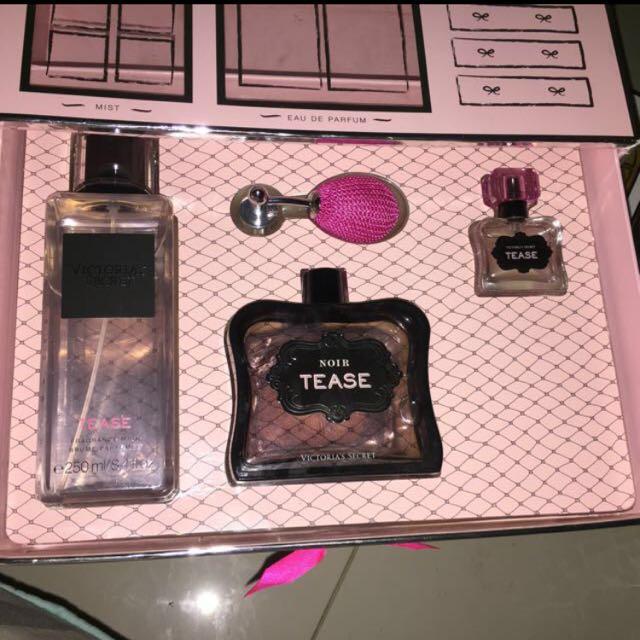 Victoria's Secret Noire Tease Gift Set