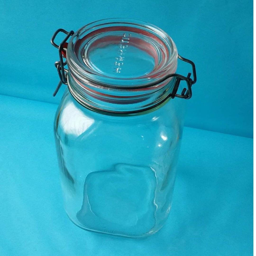 Vintage Hermetic Jar made in England