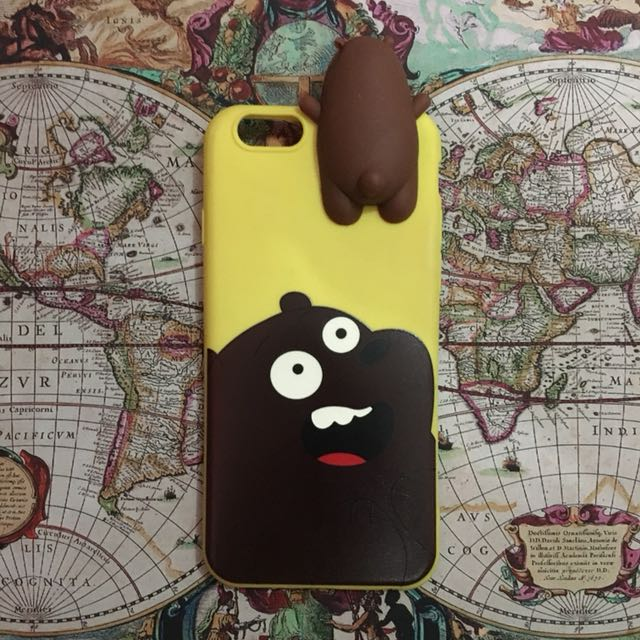 We Bare Bears Case for iPhone 6