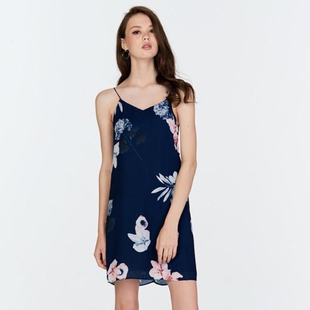 435b82863b XS) TCL Valeria Floral Printed Slip Dress