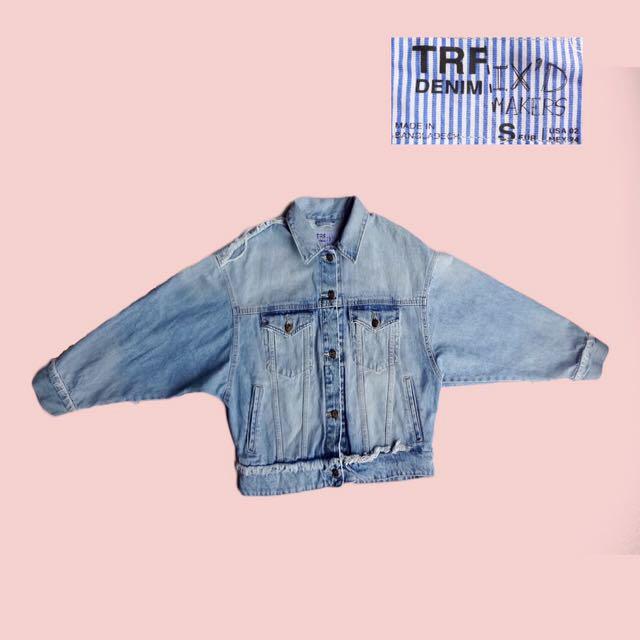 Zara Trafaluc Denim Jacket #freedelivery