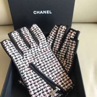 Chanel Leather Gloves