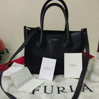 Authentic Furla bag full leather