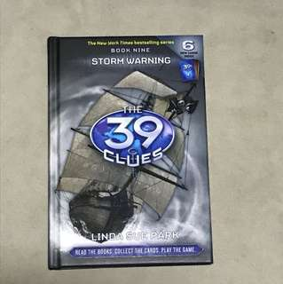 The 39 clues book 9 Storm warning