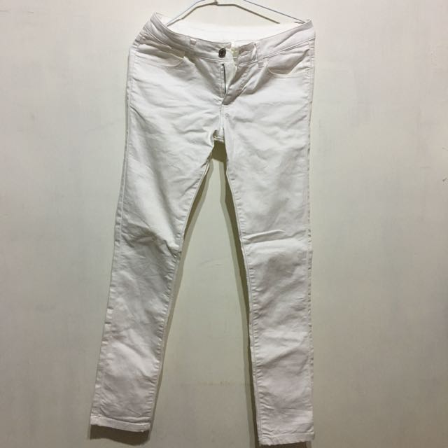 【003 Never Ending Land】白色長褲