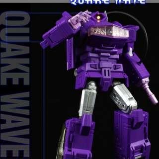 Fans Toys Fanstoys FT-03 Quakewave - MP Shockwave Transformer