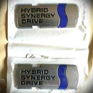Toyota Hybrid Emblem (1 pcs)