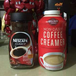 Coffee and Creamer Last piece of each