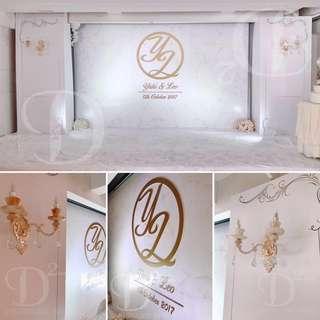 婚禮佈置 Wedding Decoration 婚禮佈置擺件外租服務