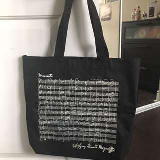 Mozart Sheet Music Tote