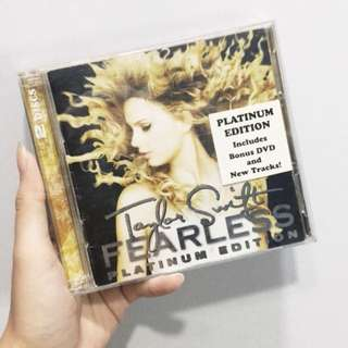 taylor swift fearless platinum edition
