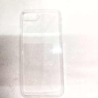 iPhone 7/7s 滴膠 有凹槽 DIY 透明 硬 保護殼 手機殼 手機套 電話殼  Phone Case