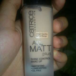 FOR SALE!!! Catrice Cosmetics : All Matt plus Shine Control Makeup Foundation