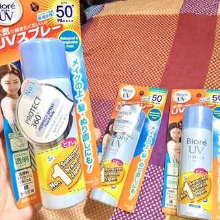 Bioré UV Perfect Spray sunblock