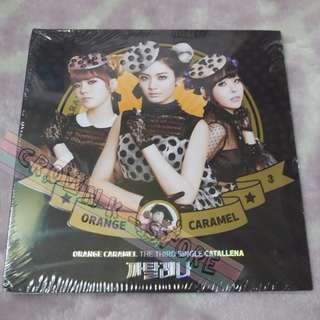 [CRAZY DEAL 50% OFF FROM ORIGINAL PRICE][READY STOCK]AFTER SCHOOL ORANGE CARAMEL KOREA 3RD SINGLE ALBUM (NO POSTER) SEALED ! NEW!OFFICIAL ORIGINAL FROM KOREA (PRICE NOT INCLUDE POSTAGE)PLEASE READ DETAILS FOR MORE INFO