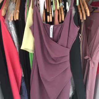 M Wrap Dress