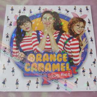 [CRAZY DEAL 50% OFF FROM ORIGINAL PRICE][READY STOCK]AFTER SCHOOL ORANGE CARAMEL KOREA  4TH SINGLE ALBUM (NO POSTER) SEALED ! NEW!OFFICIAL ORIGINAL FROM KOREA (PRICE NOT INCLUDE POSTAGE)PLEASE READ DETAILS FOR MORE INFO