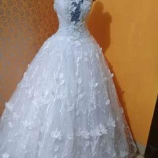 gaun weddyng