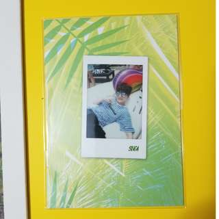 BTS Suga Summer Package selfie book