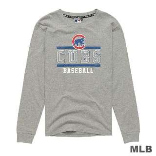 🚚 MLB球隊美式風格LOGO印花長袖T款