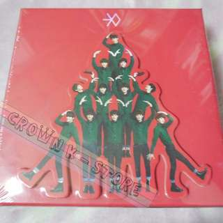 [CRAZY DEAL 50% OFF FROM ORIGINAL PRICE][READY STOCK]EXO KOREA XMAS ALBUM MIRACLE IN DECEMBER CHINESE VERSION (NO POSTER) SEALED ! NEW!OFFICIAL ORIGINAL FROM KOREA (PRICE NOT INCLUDE POSTAGE)PLEASE READ DETAILS FOR MORE INFO